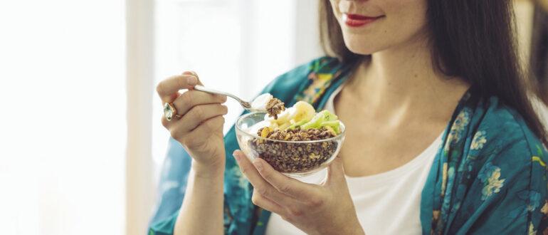 Здоровый завтрак для беременной женщины